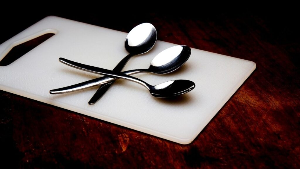 Different Types Of Spoons: silver spoons