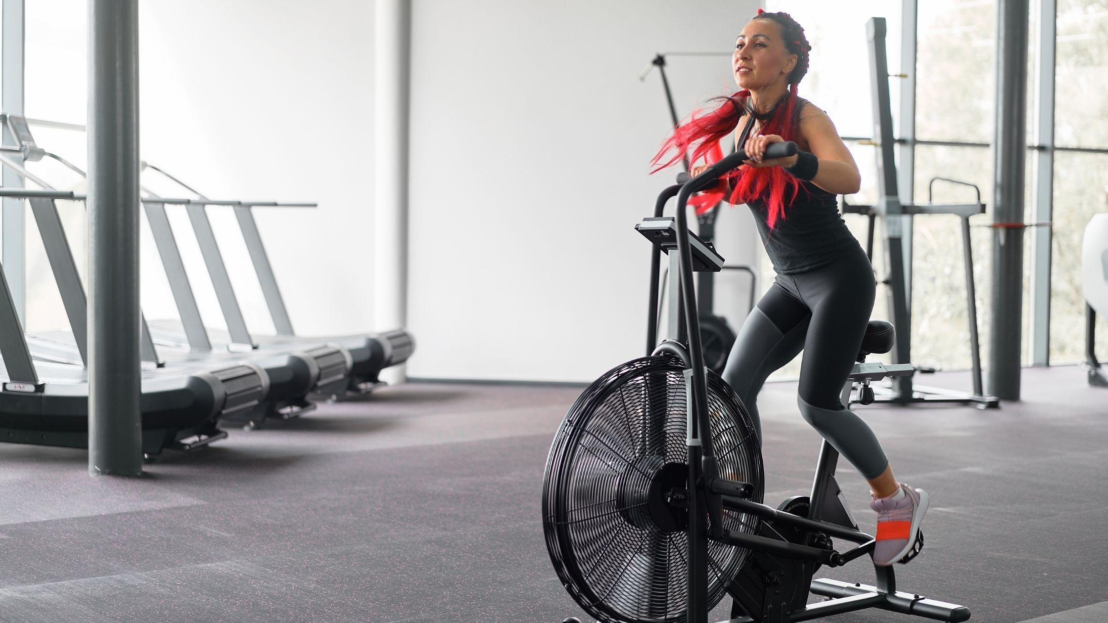 Types of exercise bikes: Fan/Air Bikes