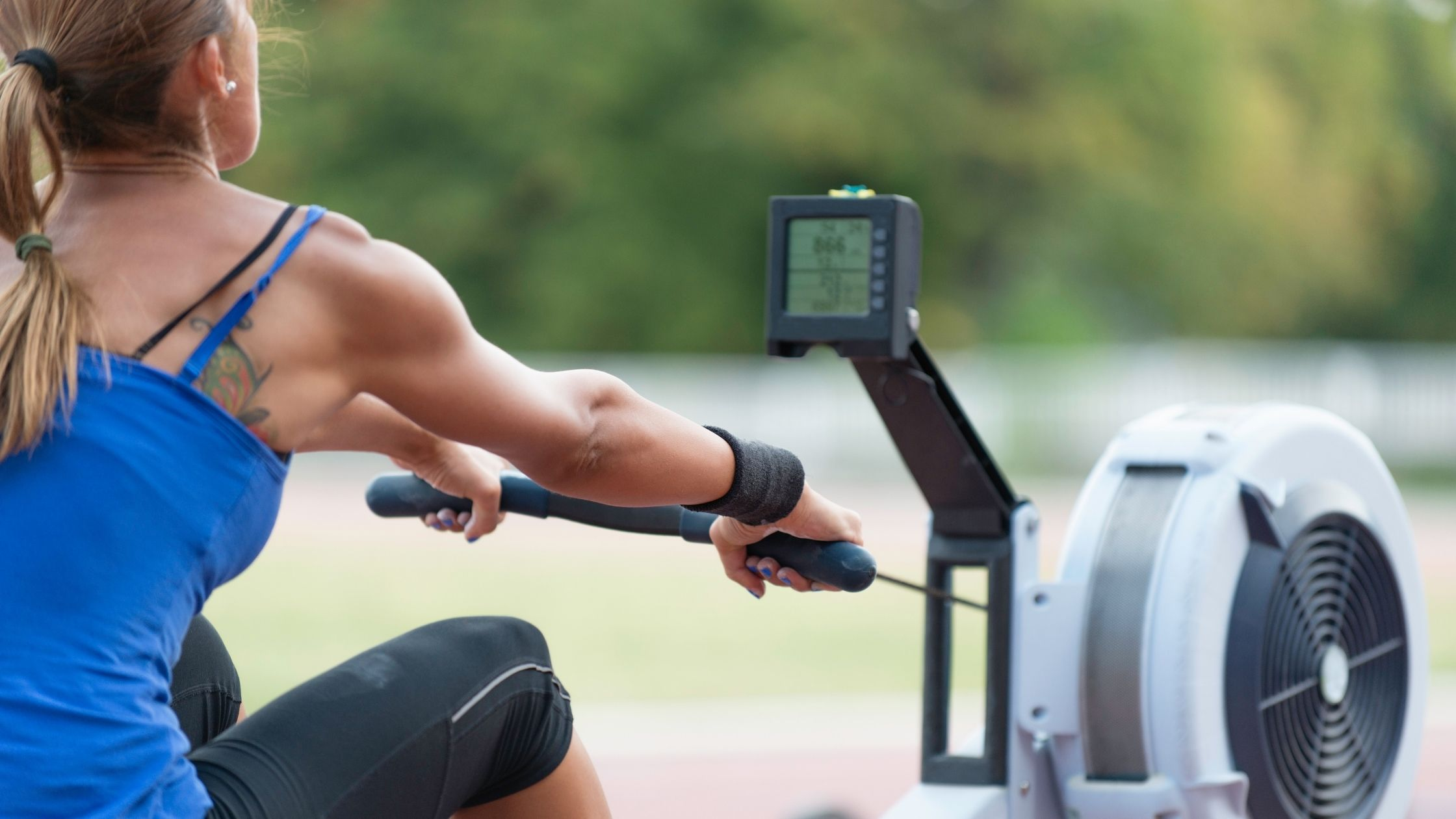 Types of Rowing Machines: Flywheel Rowing Machine