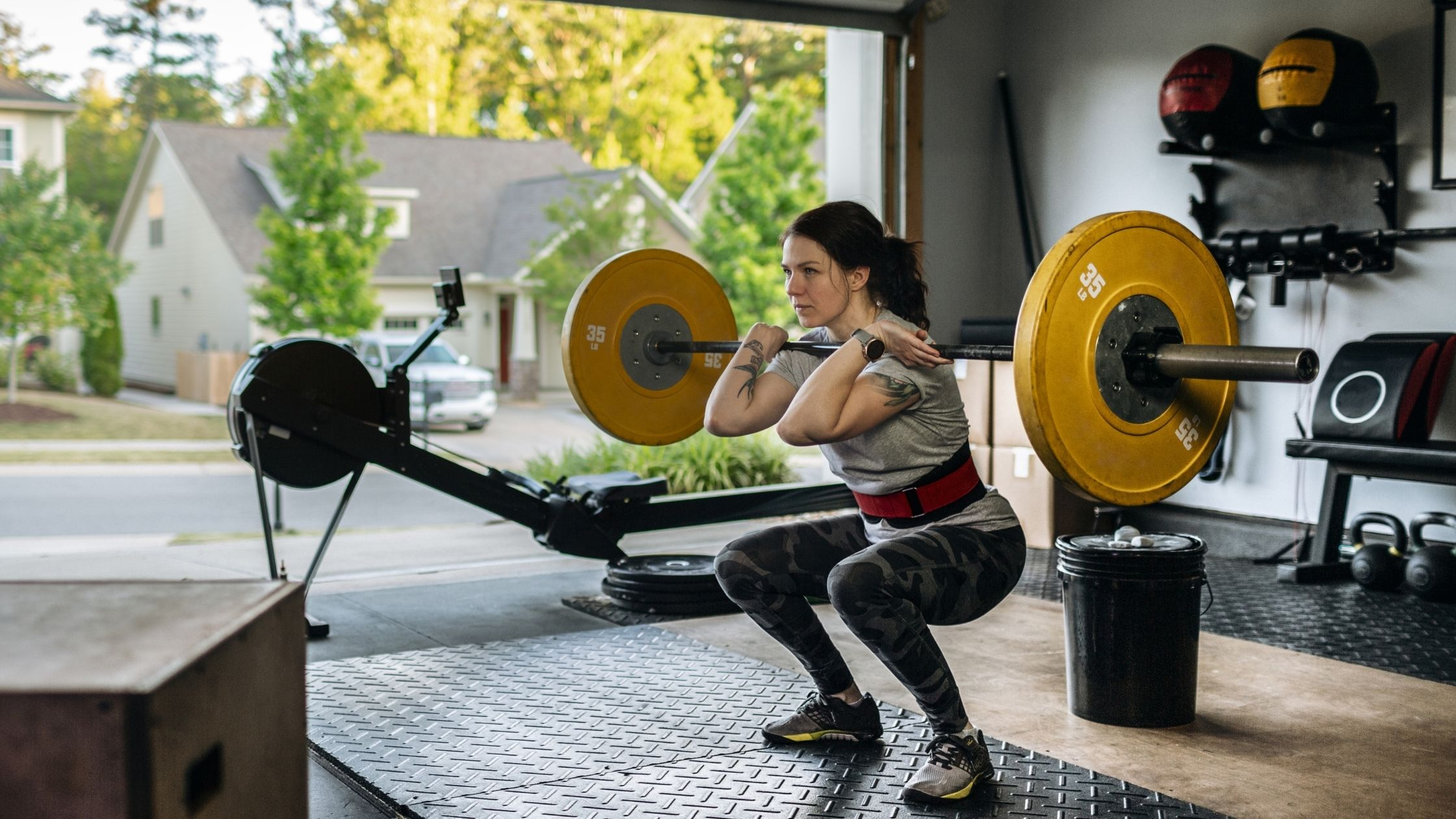 types of gyms: Home Garage gyms