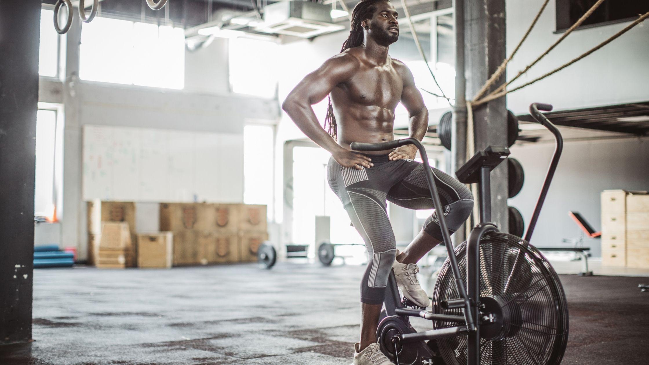 types of exercise bikes: Upright Exercise Bikes