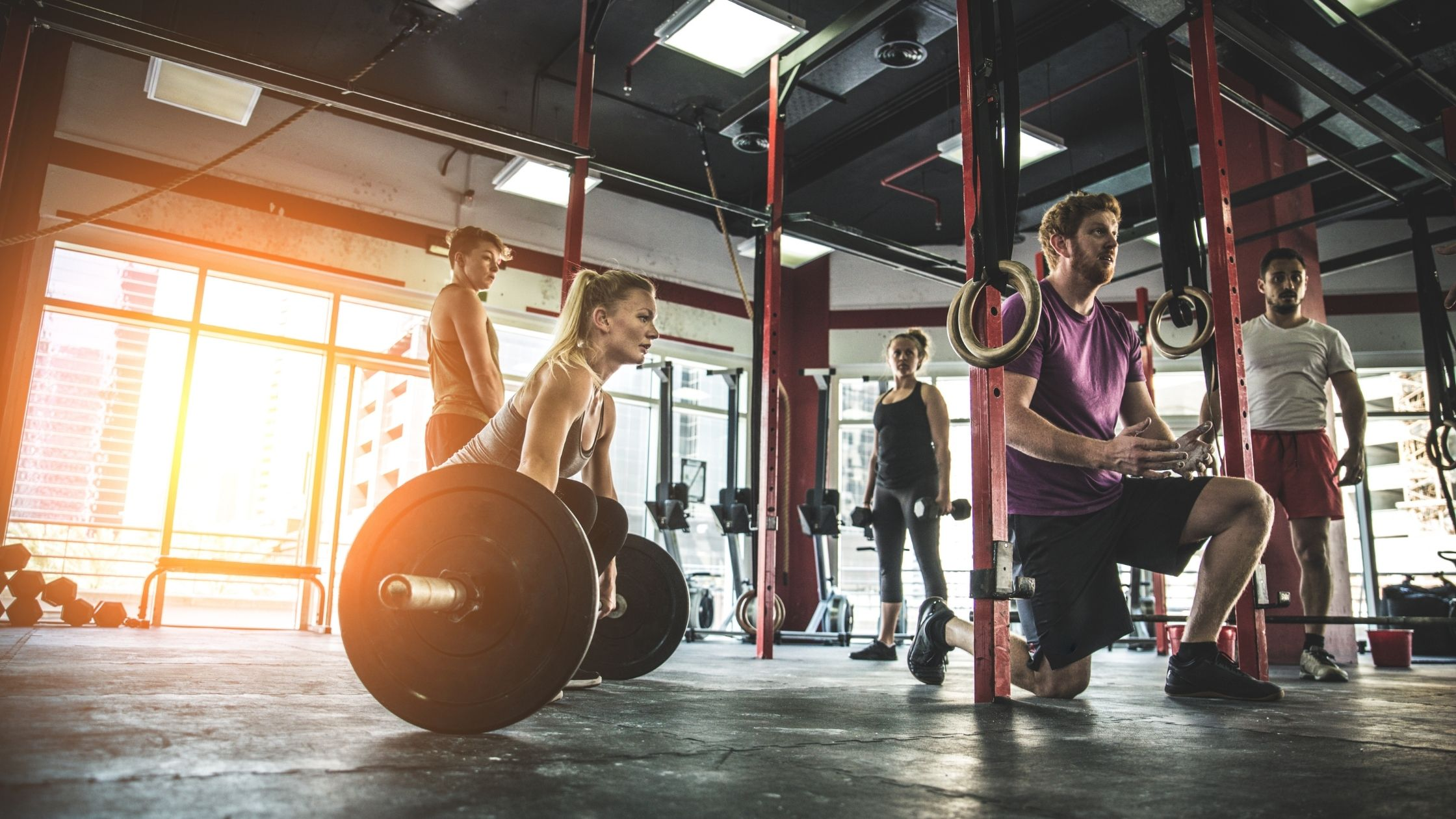 types of gyms: crossfit gym