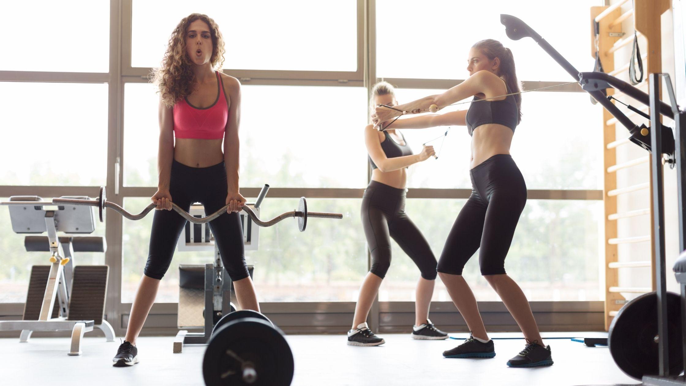 types of gyms: women gym